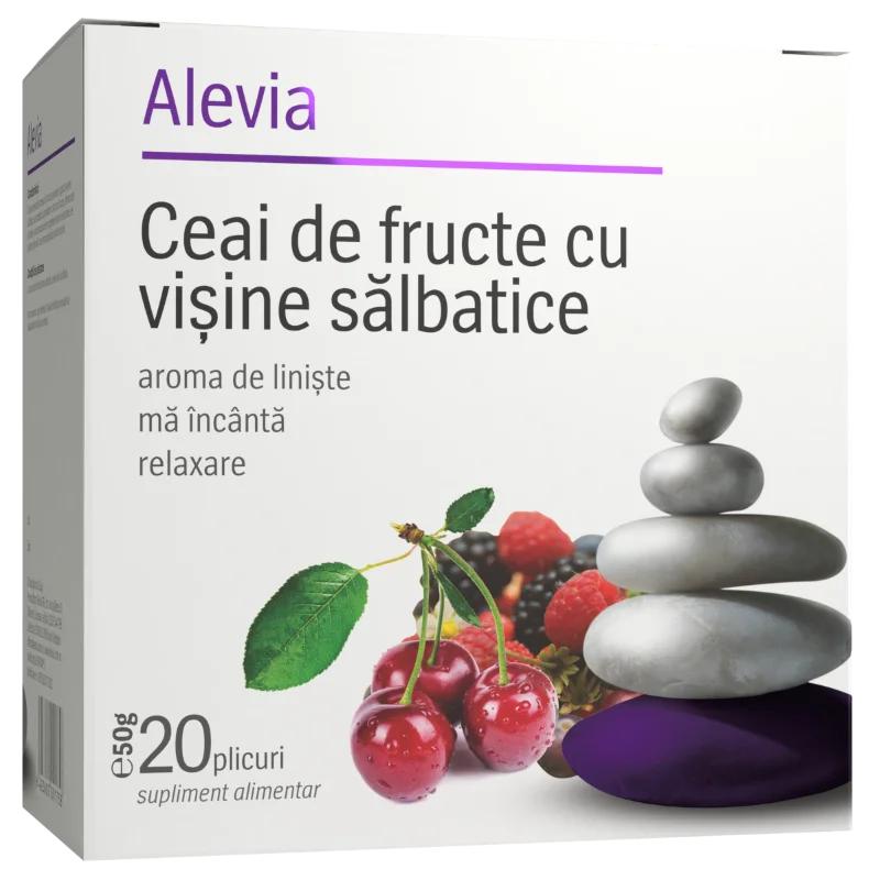 ALEVIA CEAI DE FRUCTE CU VISINE SALBATICE CT*20 PLICURI