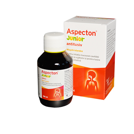 Aspecton Junior sirop, 100 ml, Krewel imagine produs 2021