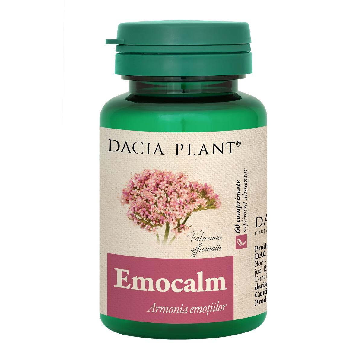 Emocalm, 60 comprimate, Dacia Plant drmax.ro