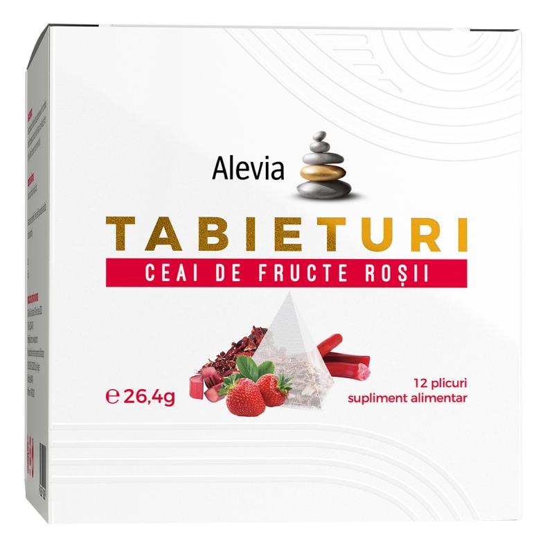 Ceai de fructe rosii Tabieturi, 12 plicuri, Alevia imagine produs 2021