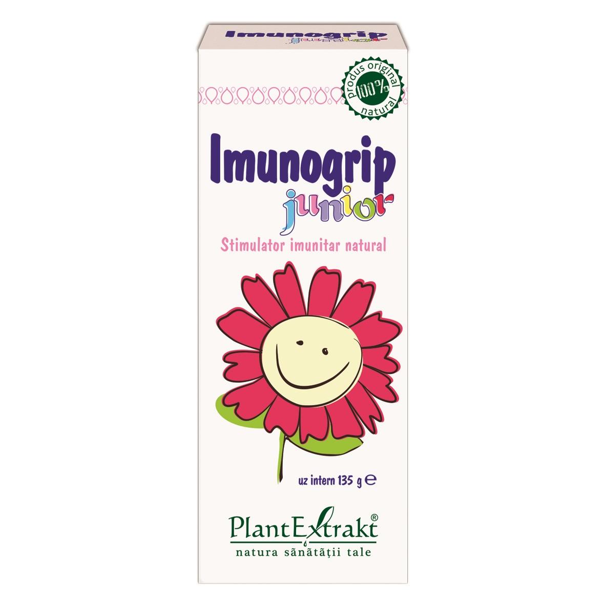Imunogrip Junior, 100ml, PlantExtrakt drmax.ro