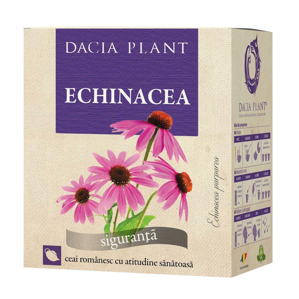 Ceai de echinacea, 50g, Dacia Plant drmax.ro