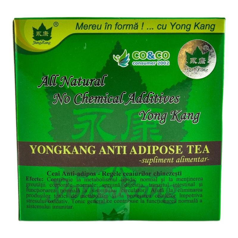 Ceai antiadipos, 30 plicuri, Yongkang International China imagine produs 2021