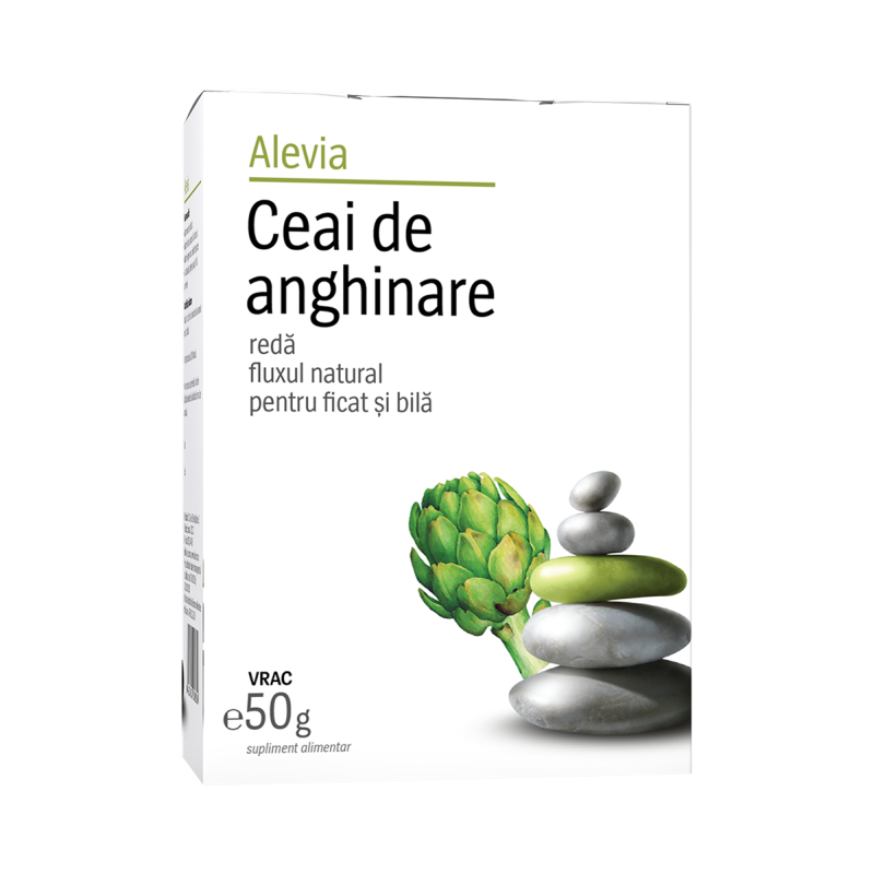 Ceai de anghinare, 50g, Alevia imagine produs 2021