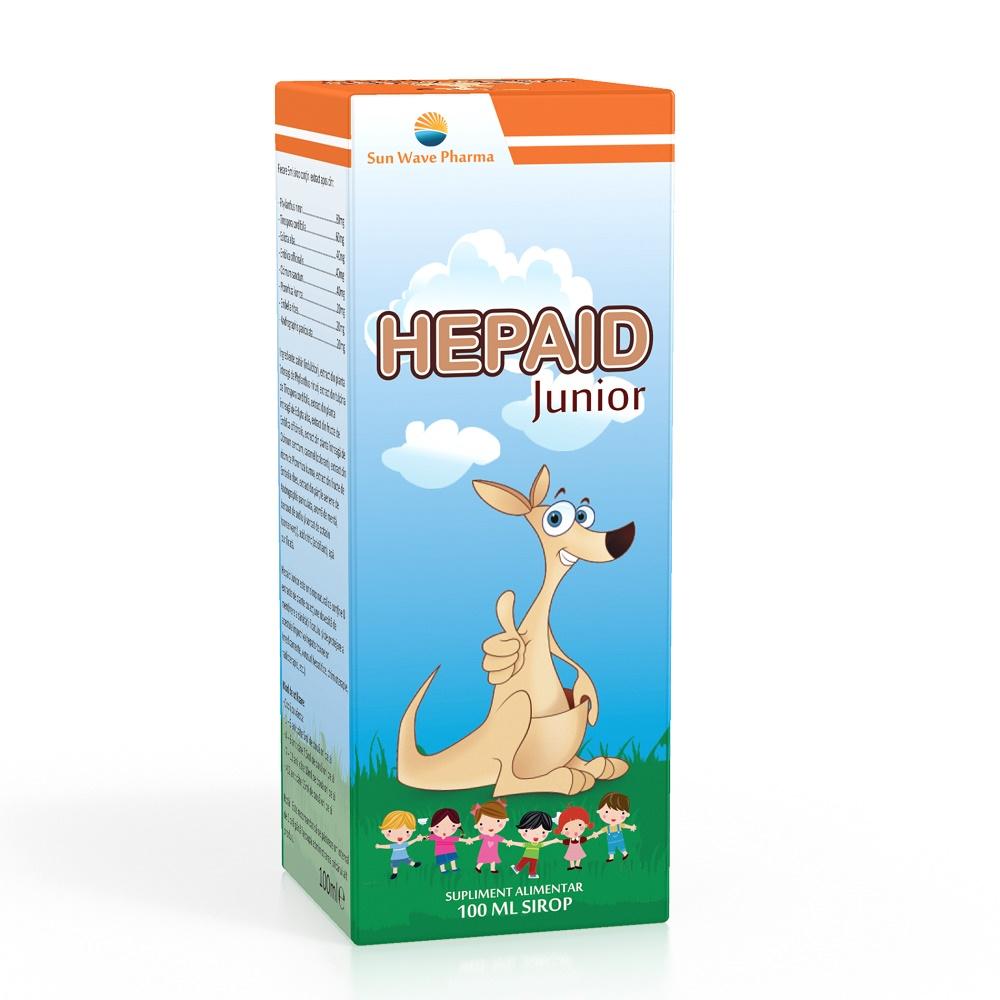 Sirop Hepaid Junior, 100 ml, Sun Wave