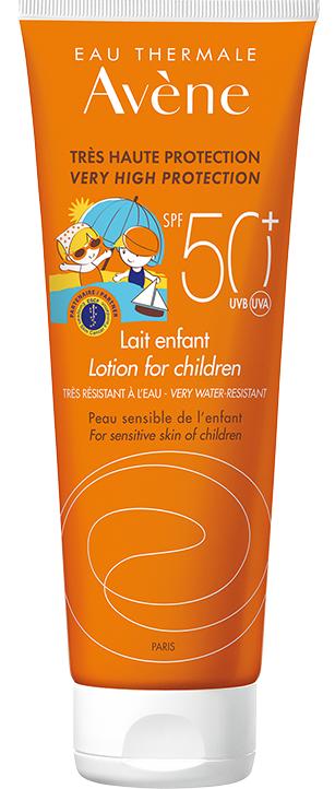 Lapte protectie solara pentru copii SPF 50+, 100 ml, Avene drmax poza