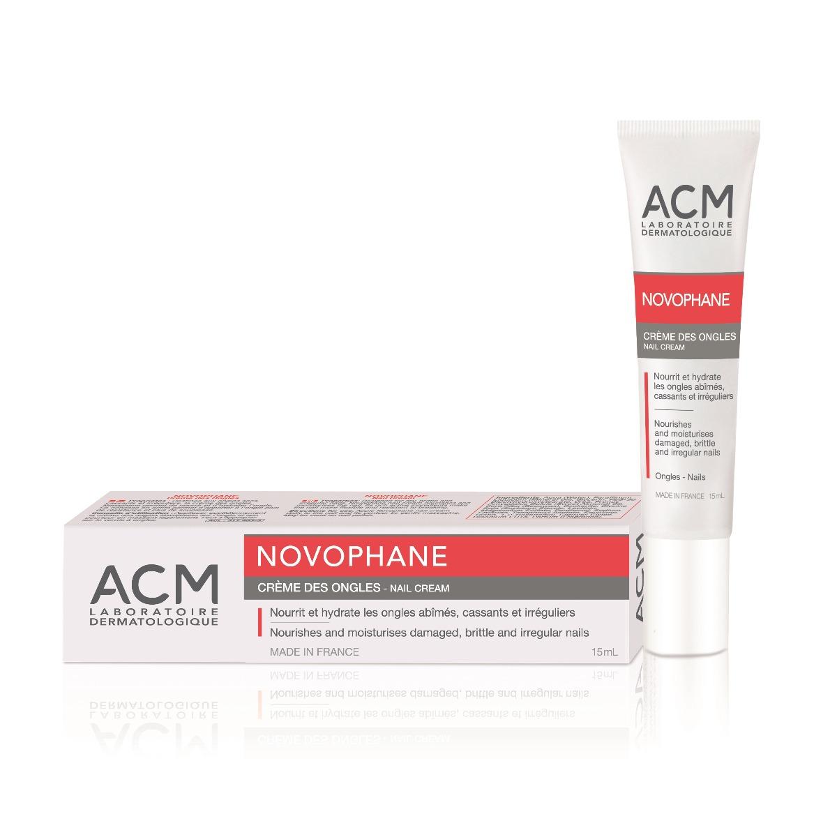 Crema hidratanta pentru unghii Novophane, 15ml, ACM drmax.ro