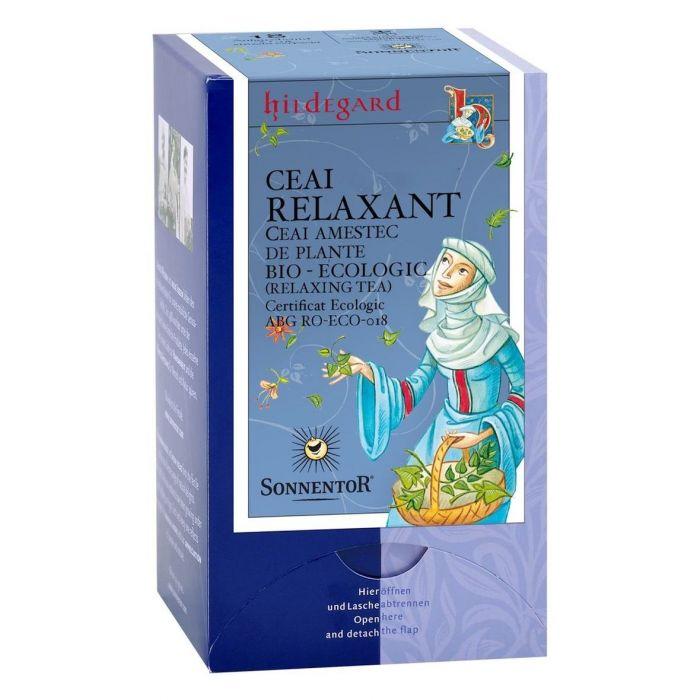 Ceai Bio Relaxant, 18 plicuri, Sonnentor drmax.ro