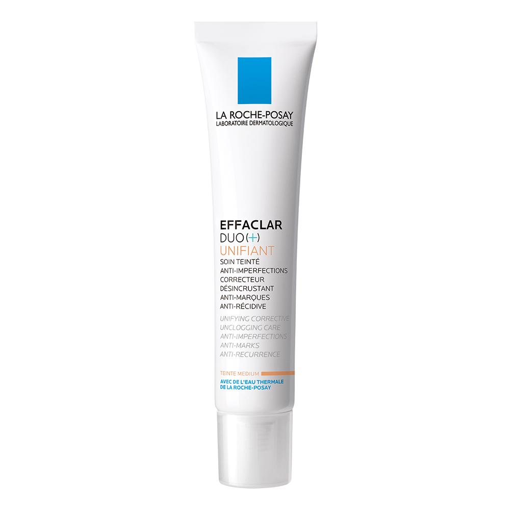 Crema corectoare Effaclar Duo+ Unifiant Medium, 40ml, La Roche-Posay drmax.ro