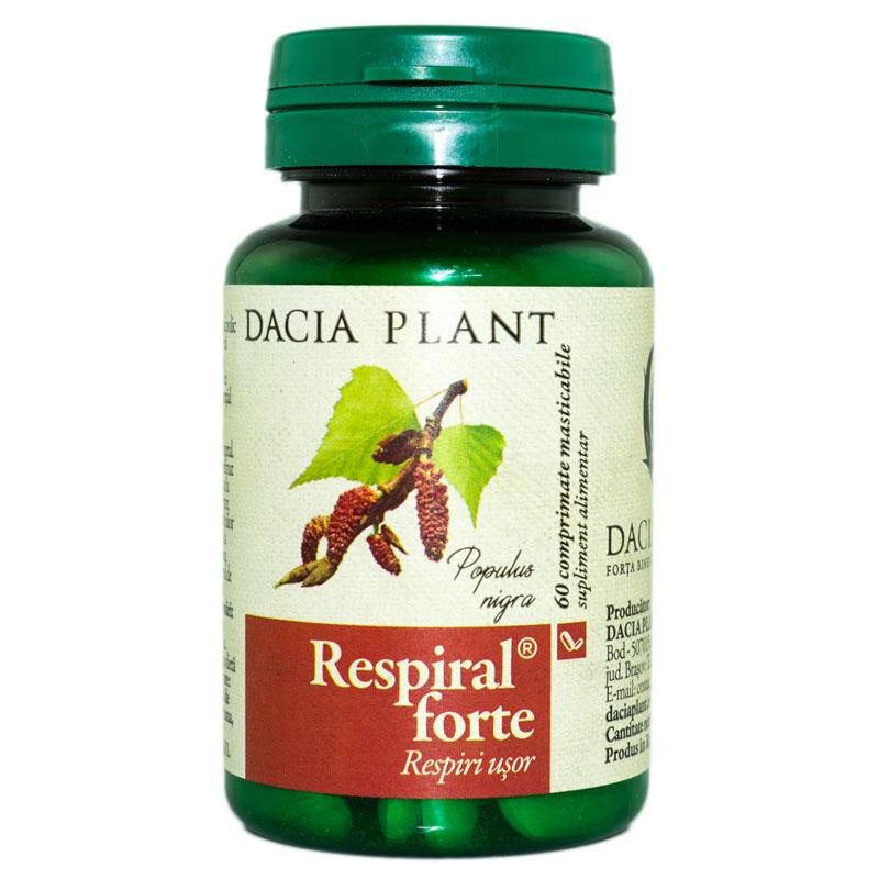 Respiral Forte, 60 comprimate, Dacia Plant drmax.ro