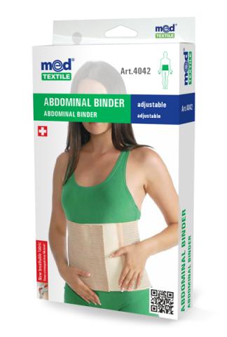 Corset abdominal M, 1 bucata, MedTextile drmax.ro