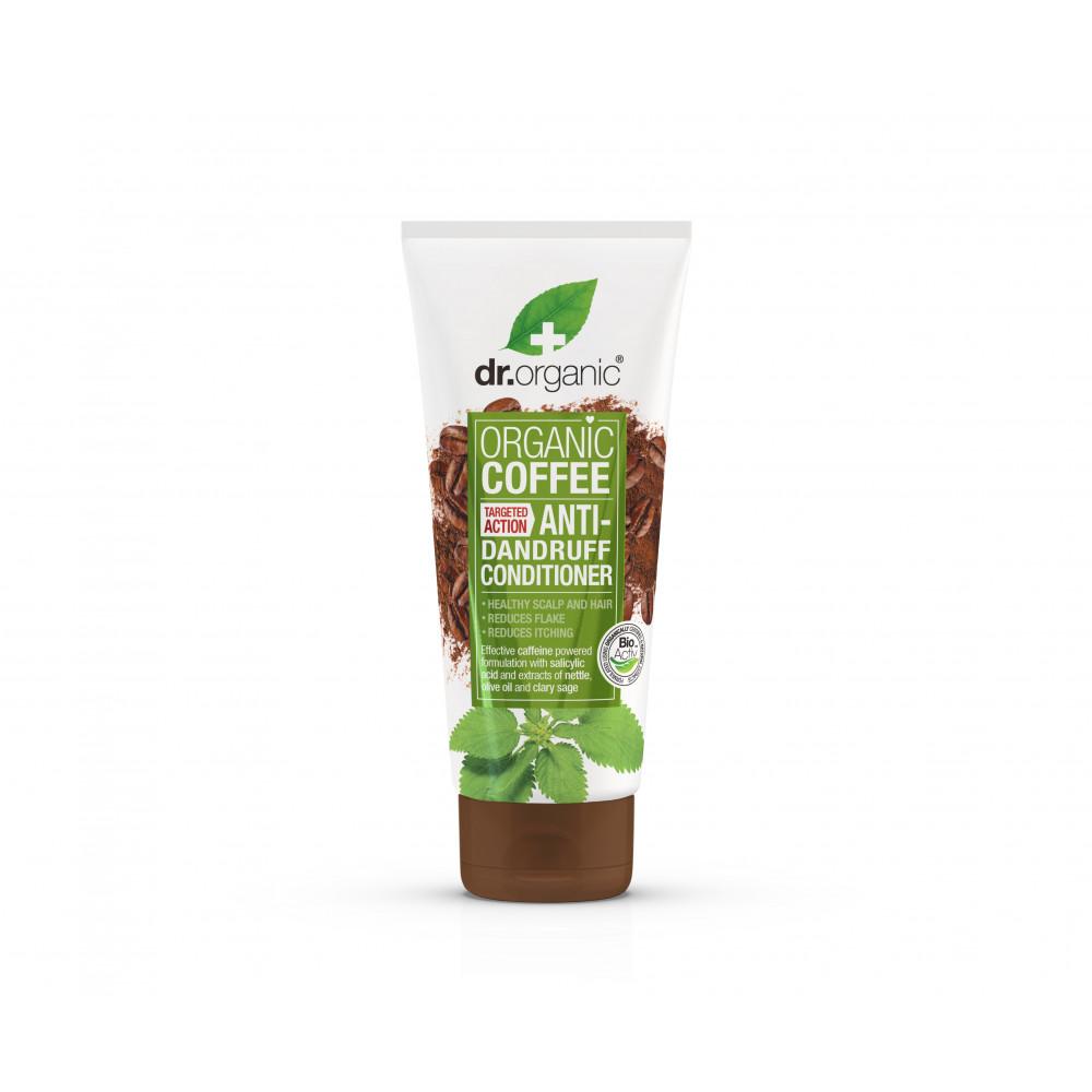 Coffee Mint Balsam de par anti-matreata, 200ml, Dr. Organic la preț mic imagine