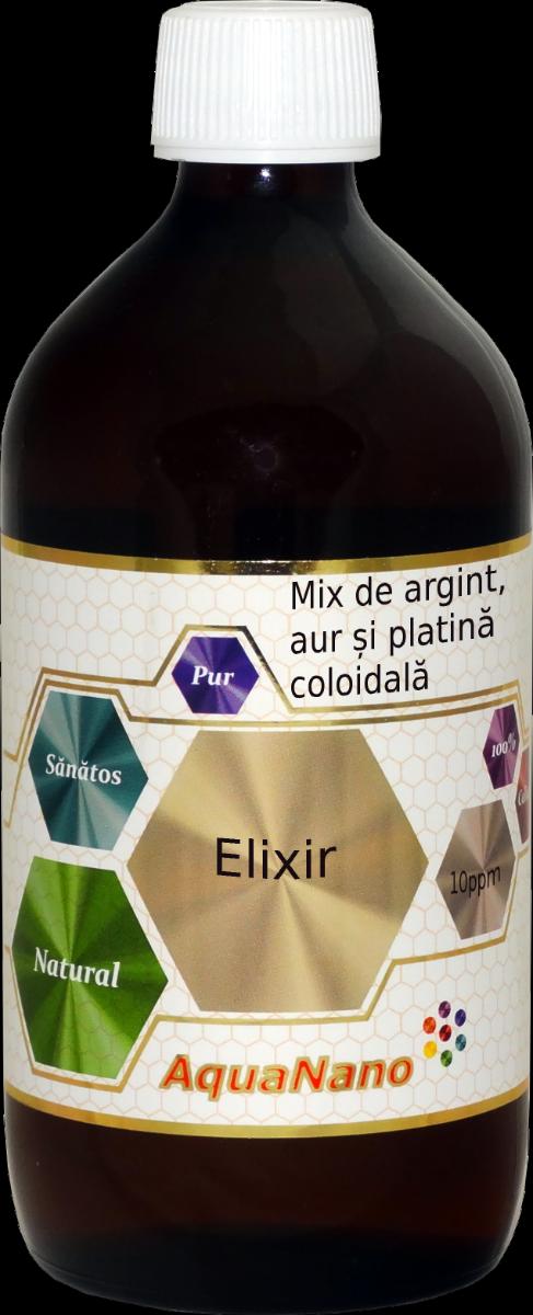 Elixir Aquanano, 480ml, Aghoras drmax poza