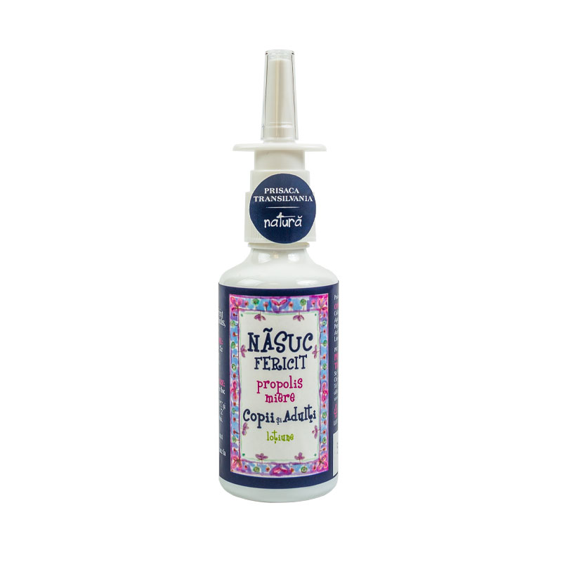 Spray de nas pentru copii Nasuc Fericit, 20ml, Prisaca Transilvania drmax.ro