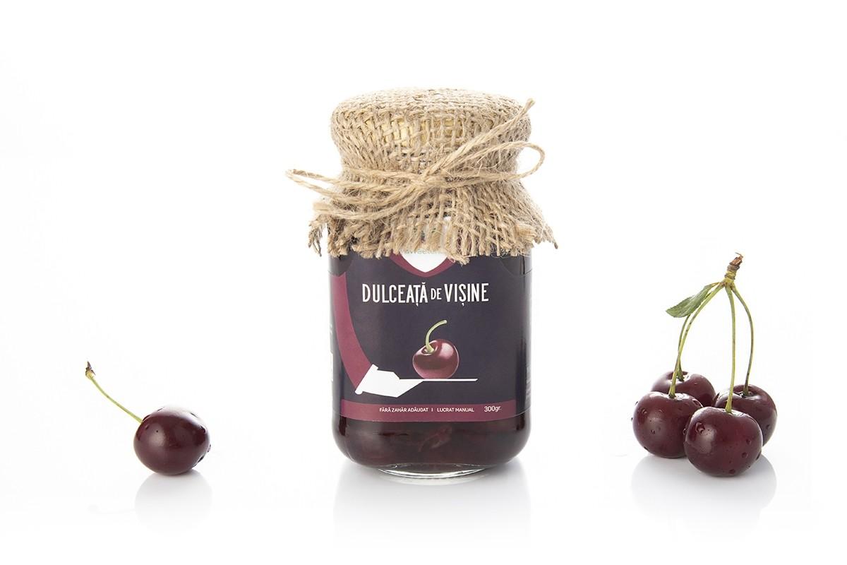 Dulceata de visine fara zahar, 300g, Sweeteria la preț mic imagine