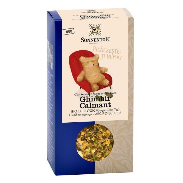 Ceai Bio Ghimbir Calmant, 60g, Sonnentor drmax.ro