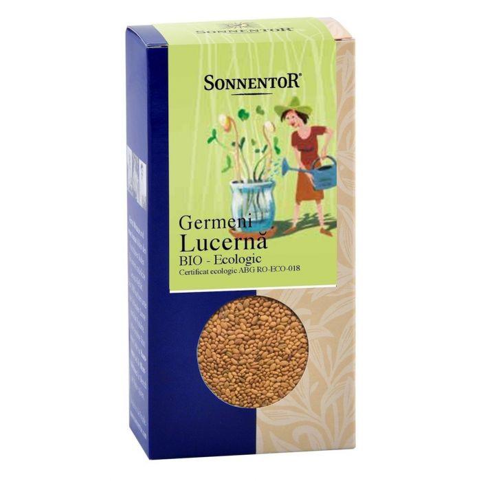 Seminte Bio - Germeni Lucerna, 120g, Sonnentor drmax.ro