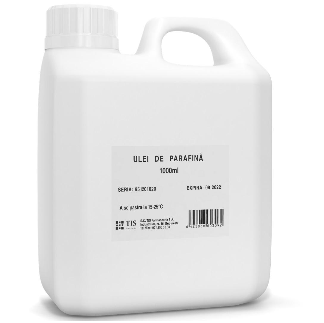 Ulei de parafina, 1000ml, Tis Farmaceutic drmax.ro