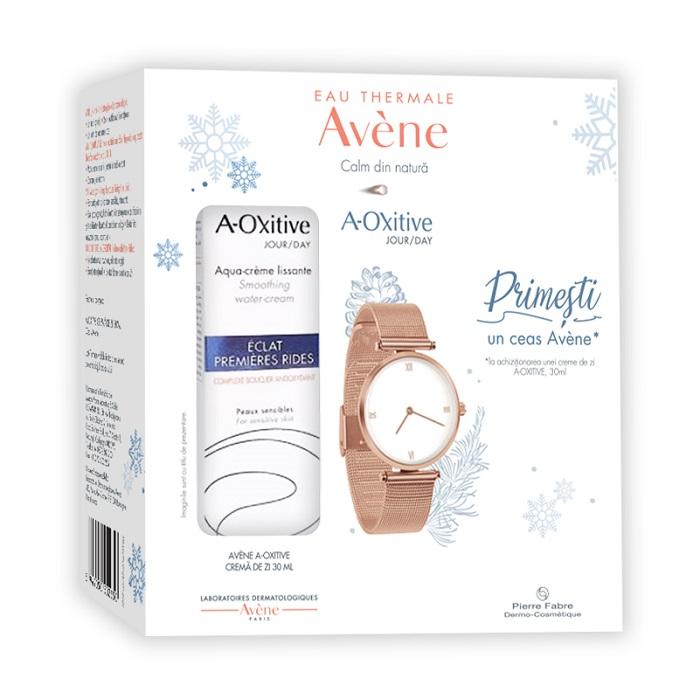 Pachet Crema de zi A-Oxitive 30ml + Ceas cadou, Avene drmax.ro
