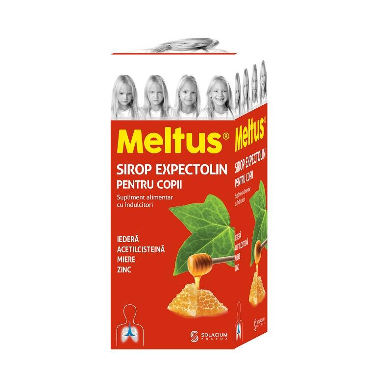 Meltus sirop Expectolin pentru copii, 100 ml, Solacium drmax.ro