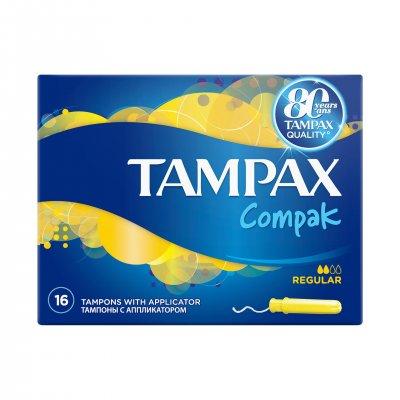 Tampoane Regular Duo, 16 bucati, Tampax drmax.ro