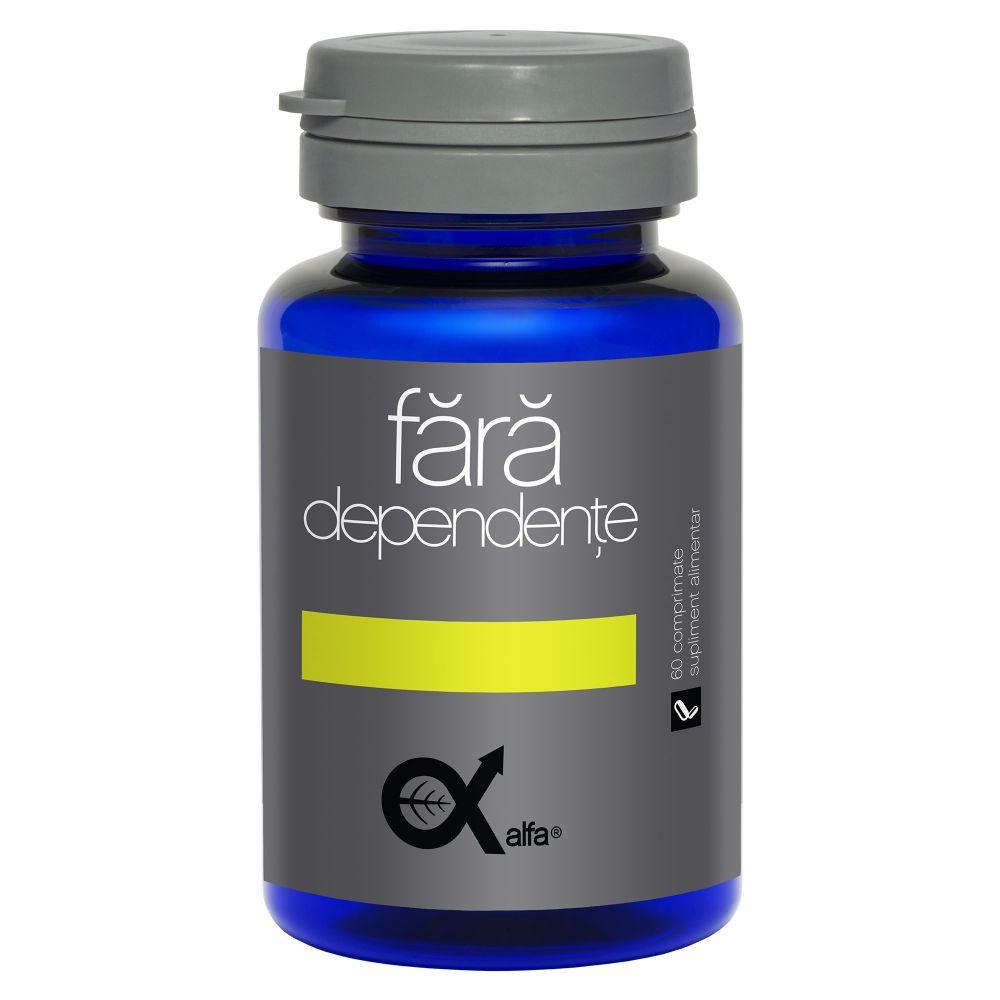 Alfa fara dependente, 60 comprimate, Dacia Plant drmax.ro