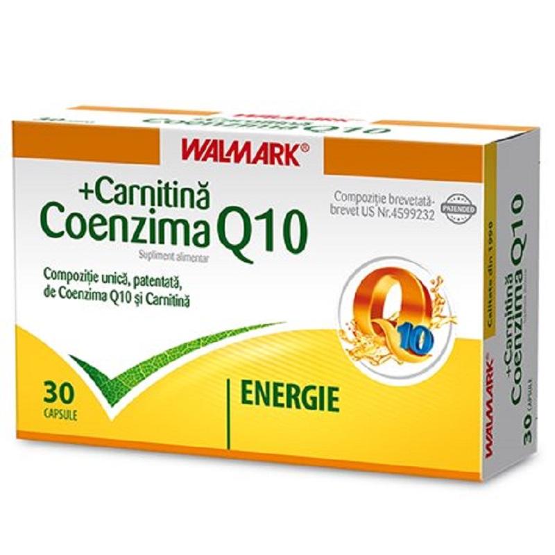 Coenzima Q10 + Carnitina, 30 capsule, Walmark la preț mic imagine