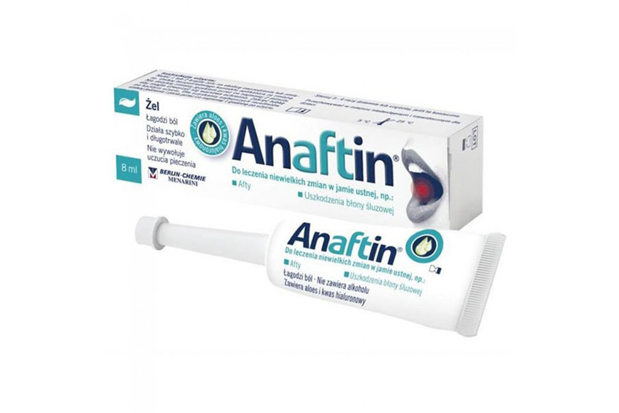 Anaftin gel, 8 ml, Berlin Chemie