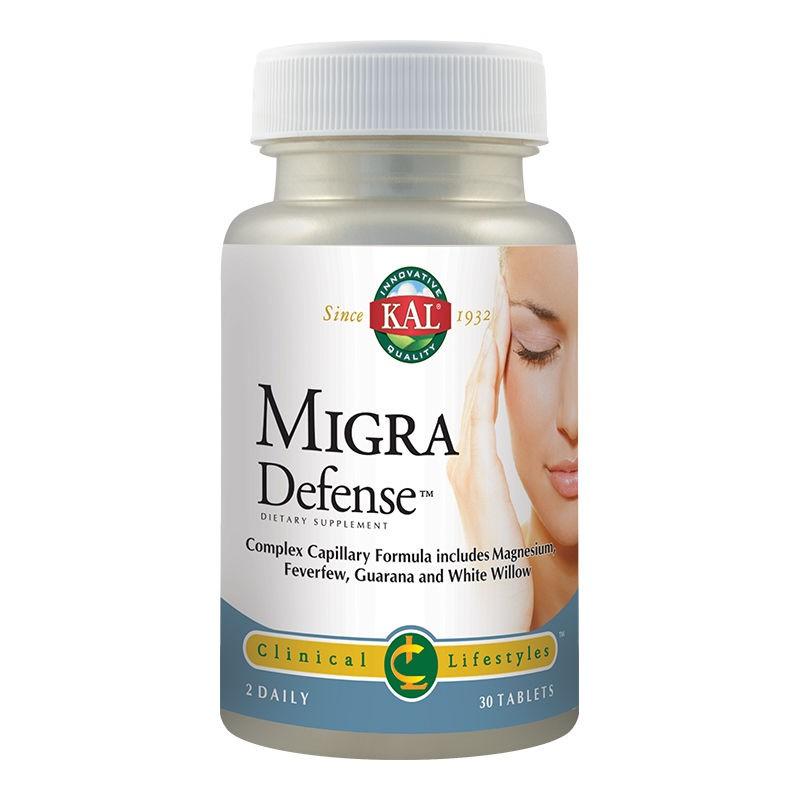 Migra Defense Kal, 30 tablete, Secom la preț mic imagine