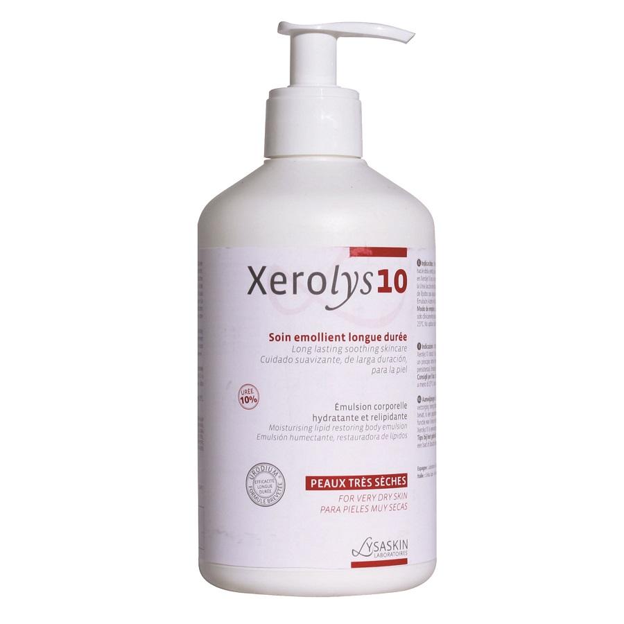 Emulsie pentru piele uscata Xerolys 10, 500ml, Lab Lysaskin