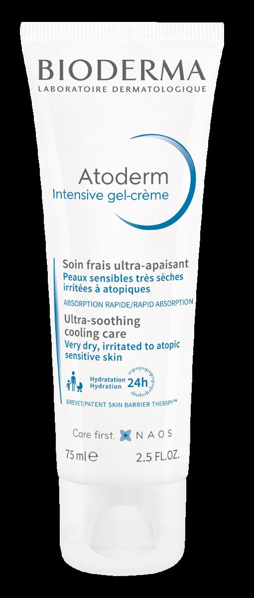 Gel crema Atoderm Intensive, 75ml, Bioderma drmax.ro