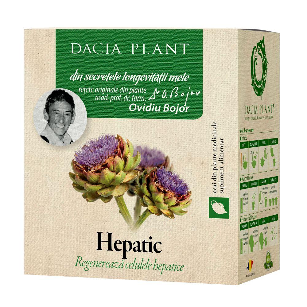 Ceai hepatic, 50g, Dacia Plant drmax.ro