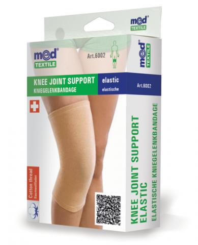 Orteza de genunchi elastica M, 1 bucata, MedTextile drmax.ro