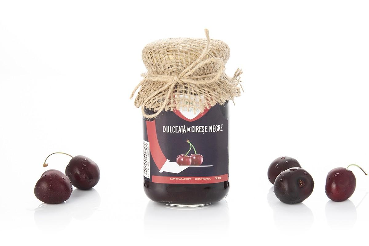 Dulceata de cirese negre fara zahar, 300g, Sweeteria drmax.ro