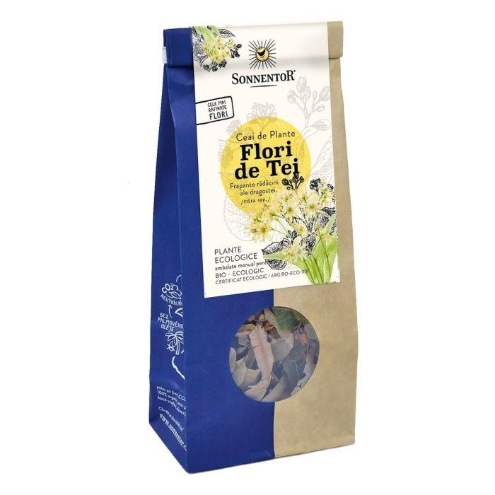 Ceai Bio Flori de Tei (Flos Tilia), 35g, Sonnentor drmax.ro