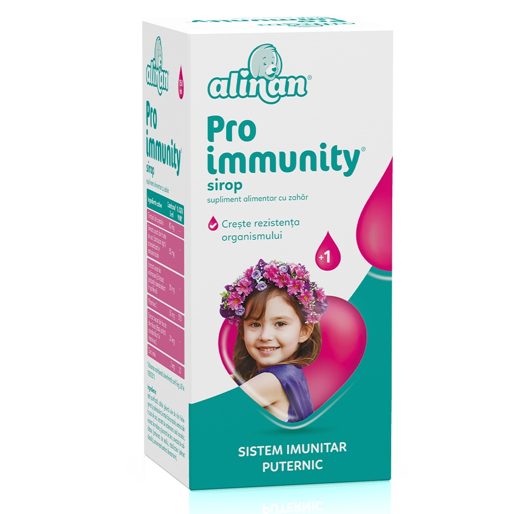 Sirop Pro Immunity Alinan, 150 ml, Fiterman drmax.ro