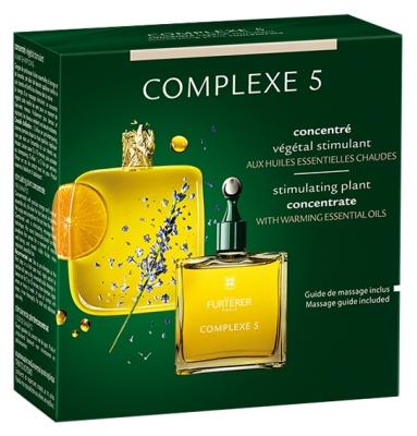 Concentrat stimulant din plante Complex 5, 50 ml, Rene Furterer