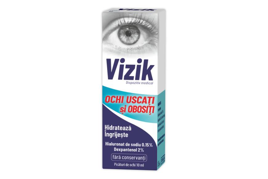 Vizik picaturi pentru ochi uscati si obositi, 10 ml, Zdrovit drmax.ro
