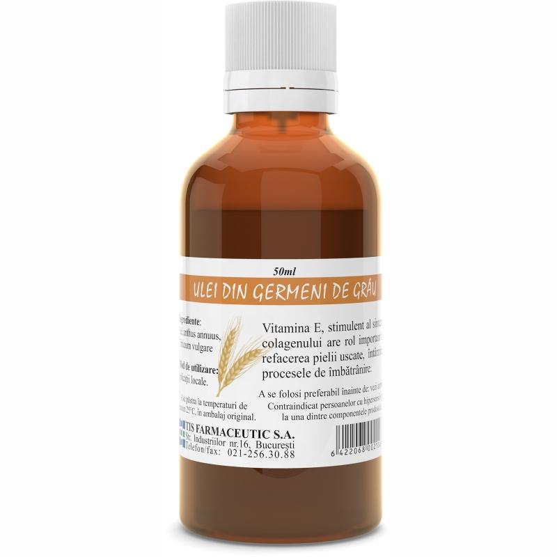 Ulei din germeni de grau, 50ml, Tis Farmaceutic drmax.ro