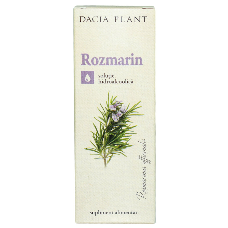 Tinctura de rozmarin, 50ml, Dacia Plant drmax.ro