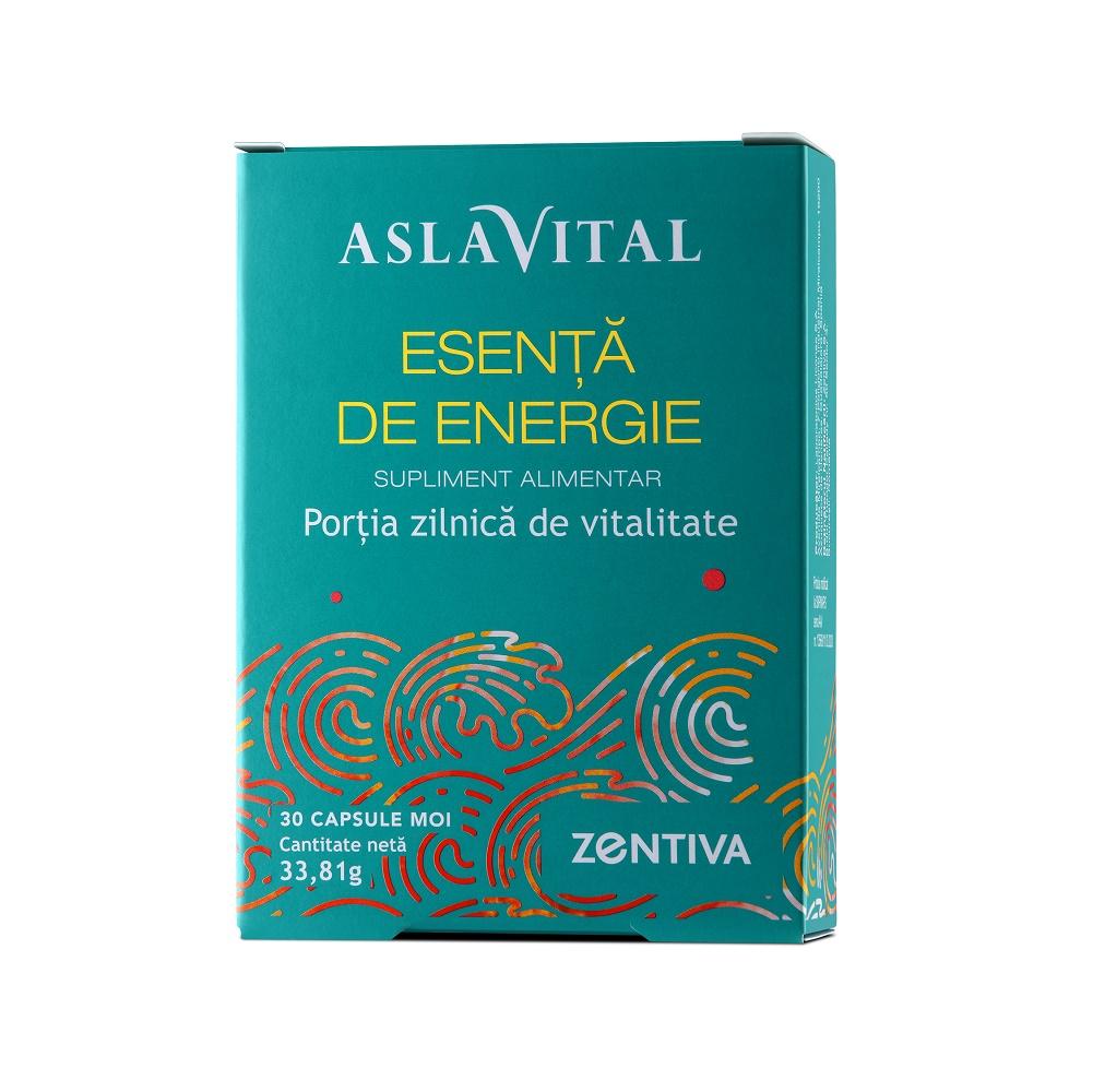 Esenta de Energie Aslavital, 30 capsule moi, Zentiva drmax poza