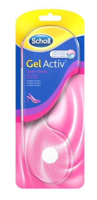 Branturi Gel Activ Open Shoes pentru femei, 1 pereche, Scholl imagine produs 2021