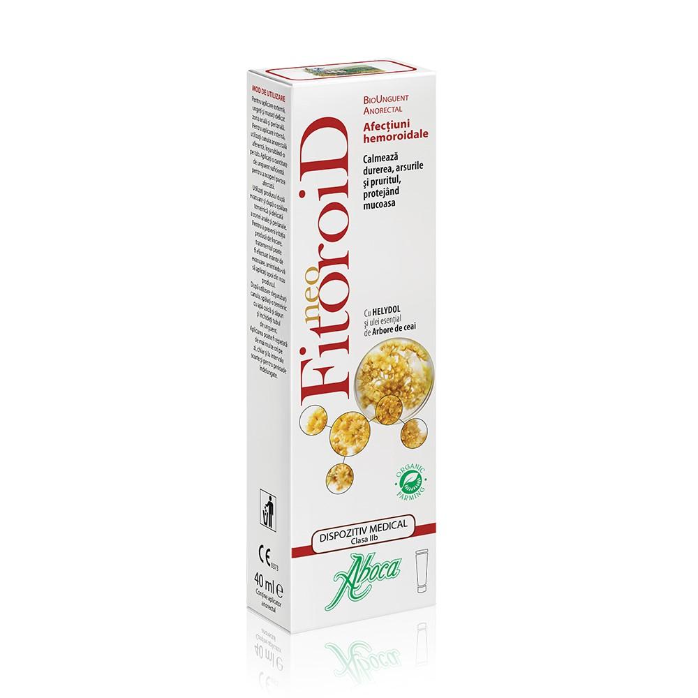NeoFitoroid Bio unguent, 40ml, Aboca la preț mic imagine