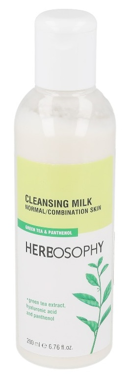 Herbosophy, Lapte demachiant pentru ten normal/mixt, 200ml imagine produs 2021
