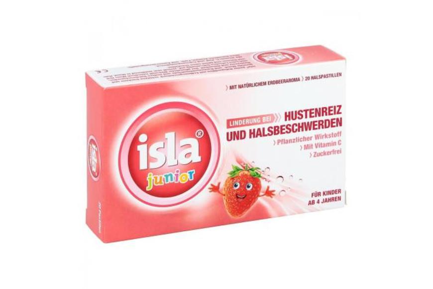 Isla junior aroma de capsuni, 20 tablete, Engelhard Arzneimittel la preț mic imagine