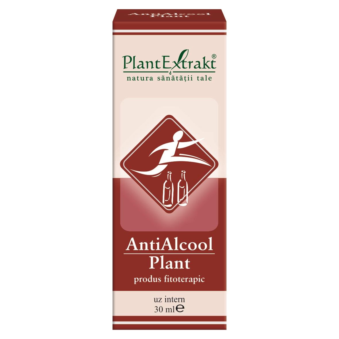 AntiAlcool Plant, 30ml, Plantextrakt imagine produs 2021