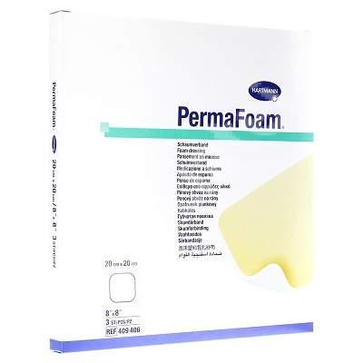 Pansament din spuma poliuretanica tristratificata Permafoam Cavity, 10cm x 10cm, Hartmann imagine produs 2021