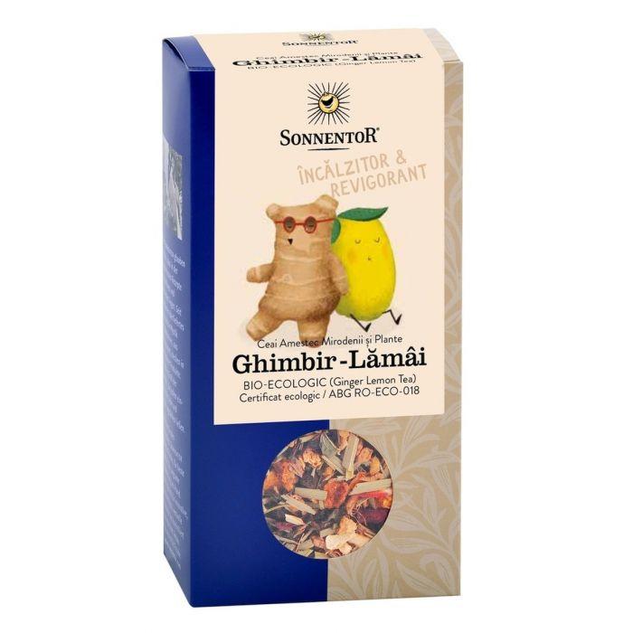 Ceai Bio Ghimbir Lamaie, 80g, Sonnentor drmax.ro