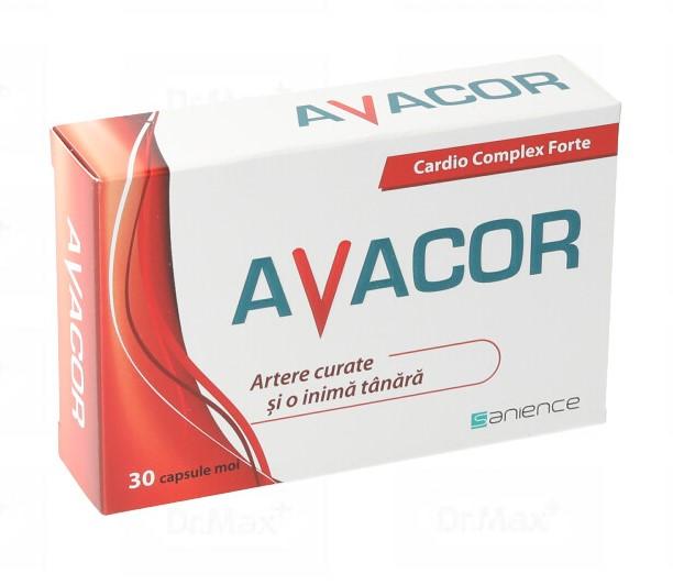 Avacor, 30 capsule, Sanience drmax.ro