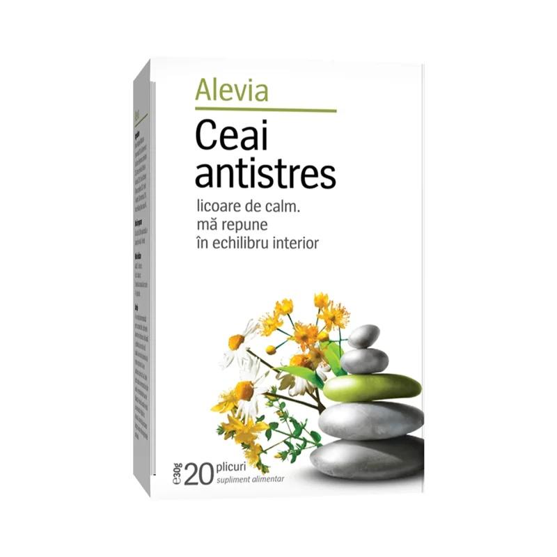 Ceai de plante antistres, 20 plicuri, Alevia drmax.ro